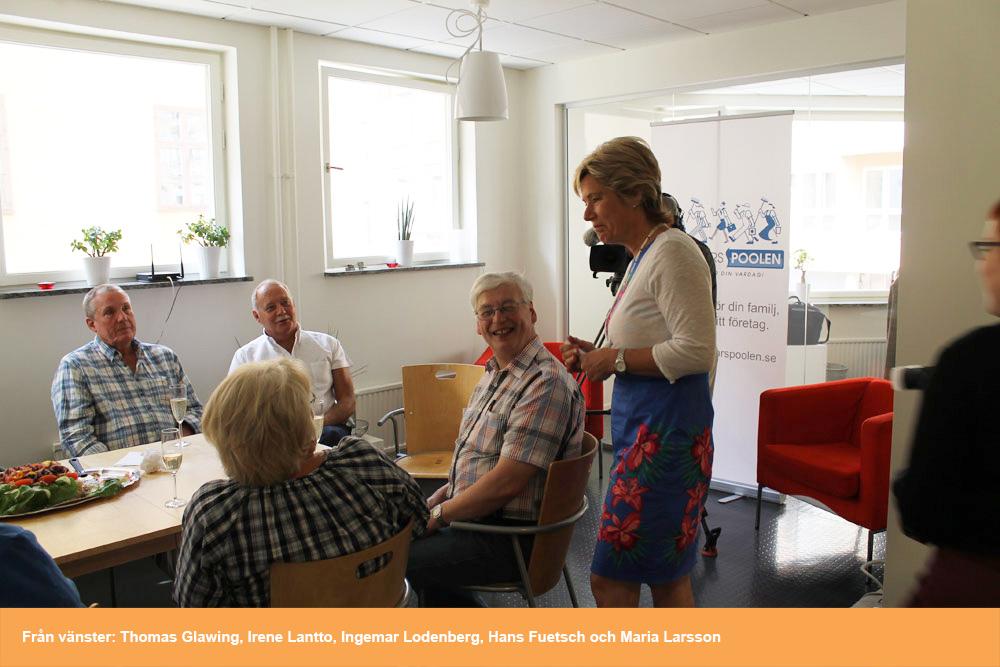 Pensionärspoolen Stockholm invigs av Barn och Äldreminister Maria ... 1d0db63a77f94